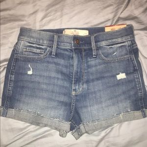 Hollister Highrise Shorts
